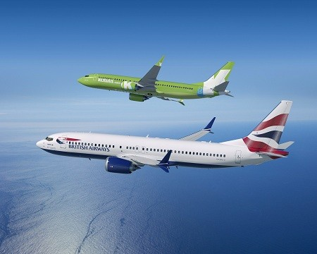 British Airways and Kulula 737-MAX8 Artwork K66085