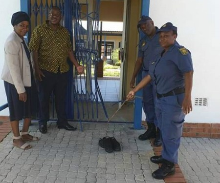 SAPS School of the disabled