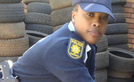 Constable Jane Thandi Ntuli who was eight months pregnant died following an accident at the weekend.  Image: Supplied / SAPS