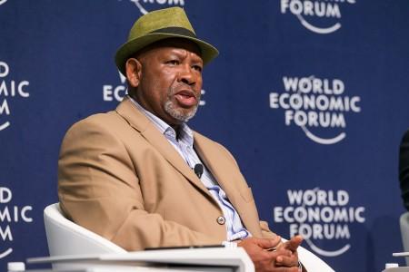 Jabu A. Mabuza, Chairman, Telkom Group, South Africa at the World Economic Forum on Africa 2017 in Durban, South Africa, 2017. Copyright by World Economic Forum / Benedikt von Loebell