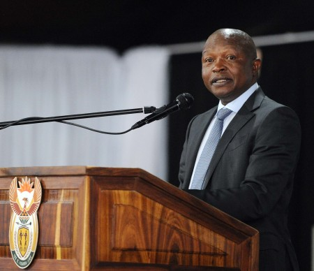 Deputy President David Mabuza addressing the Presidential Health Summit at the Birchwood Hotel in Boksburg, Gauteng. South Africa. 19/10/2018. Siyabulela Duda  The Presidential Health Summit brings together key stakeholders from various constituencies in the health sector, to deliberate and propose solutions to address the challenges facing the South African health system. Delegates will work towards strengthening the health system to ensure that it provides access to quality health services for all in line with the principles of universal health coverage through an inclusive process.