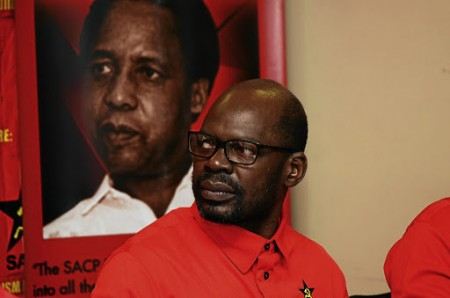 October 17 2017 SACP held a press conference at the COSATU offices in Braamfontein in reaction to the Cabinet Reshuffle by president Jacob Zuma. Solly Mapaila.PHOTO: Mduduzi Ndzingi