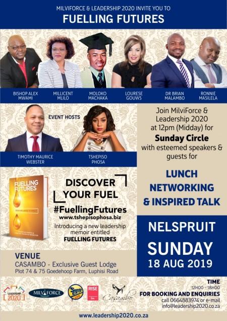 Fuelling Futures - Sunday Circle Aug 2019
